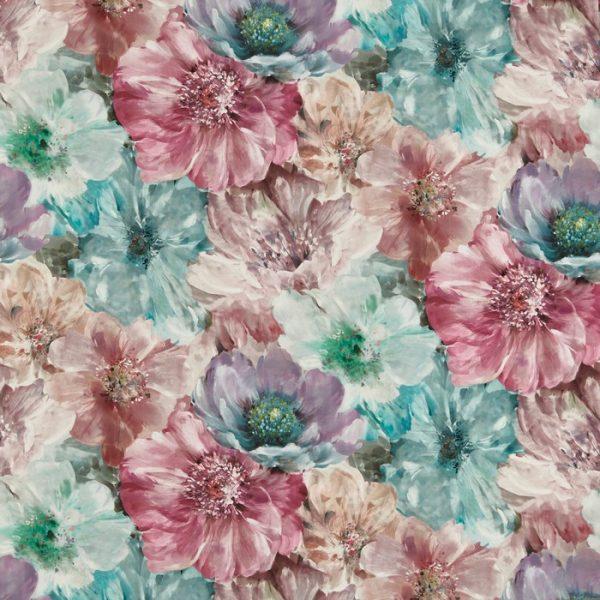 Draperii design floral Lani Hibiscus