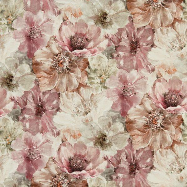 Draperii design floral Lani Spice