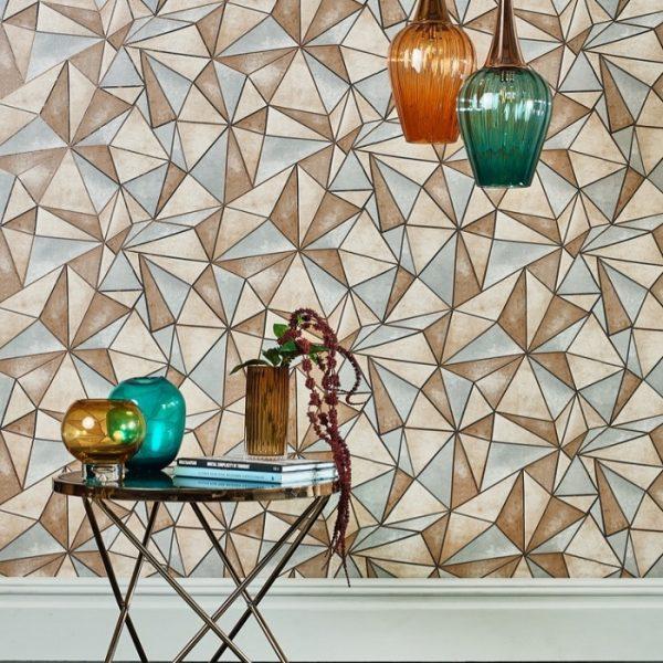 Tapet forme geometrice Shard Cooper