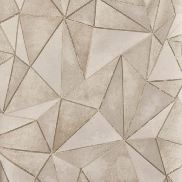Tapet forme geometrice Shard Stonewash