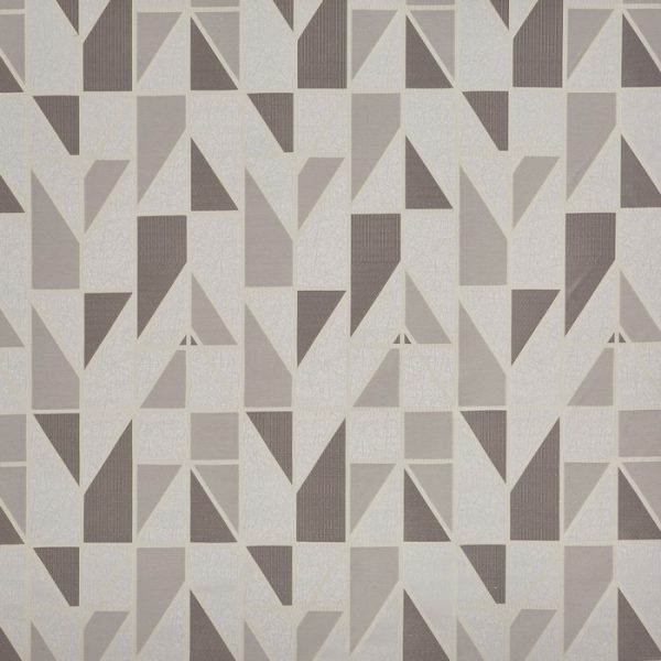 Draperii cu model geometric Innovate Dove