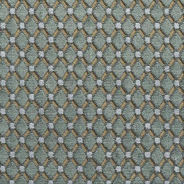 Catifea jacquard pentru tapiterie Cabochon Turquoise