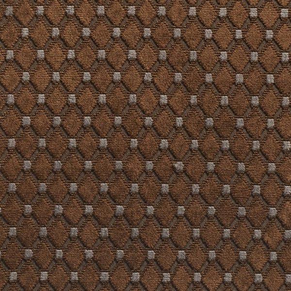 Catifea jacquard pentru tapiterie Cabochon Cacao