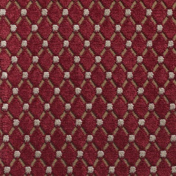 Catifea jacquard pentru tapiterie Cabochon Hibiscus