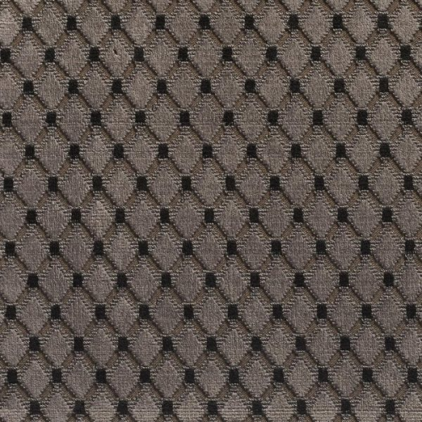Catifea jacquard pentru tapiterie Cabochon Taupe