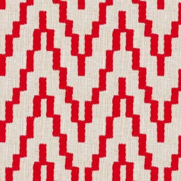 Material textil outdoor cu design geometric Running 07