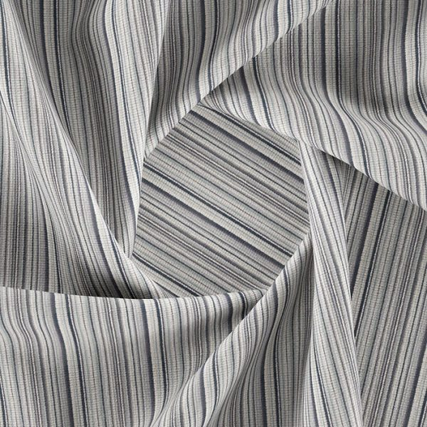 Material textil cu dungi pentru tapiterie Bingo 13 (FibreGuard)