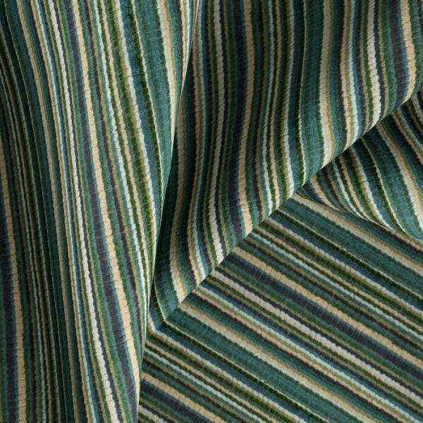 Material textil cu dungi pentru tapiterie Bingo 7 (FibreGuard)